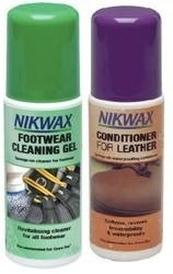 NIKWAX set Footwear Cleaning Gel + Conditioner for Leather 2x125ml