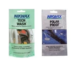 NIKWAX set Tech Wash 100ml + Polar Proof 50ml sachets