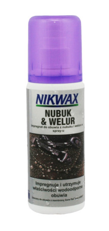 Impregnat do obuwia nubuk welur zamsz NIKWAX Nubuk&Suede Proof Spray-on 125ml