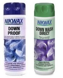 Zestaw NIKWAX Down Wash Direct + Down Proof 2x300ml
